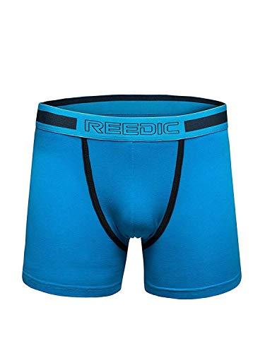 OZONEE Herren Slip Boxershorts Shorts Unterhose Unterwäsche Farbvarianten REEDIC G506 BLAU M