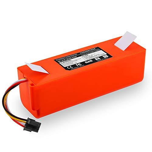 Meiyiu Reemplazo de batería de Litio de 14.4 V para Accesorios de barredora de aspiradora XIAOMI 5200mAh