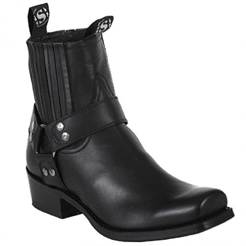 Sendra Boots 8286-9 schwarz Gr. 43 * incl. original Mosquito ® Stiefelknecht *