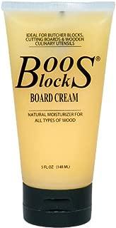 John Boos 5 Ounce Block Bees Wax Board Cream, Set of 6