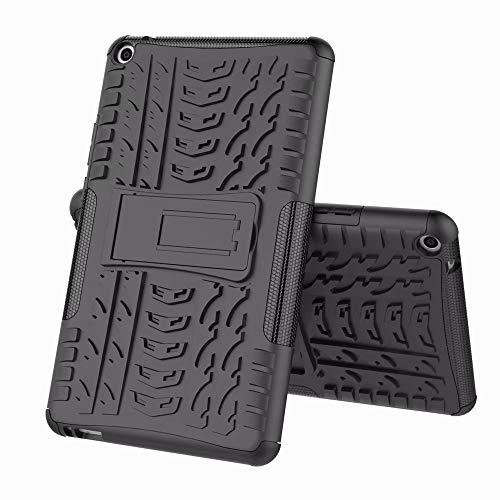FTRONGRT Funda para Lenovo Yoga Pad Pro, [Armadura Delgada] [Doble Capa] [Protección Pesada] Rugged Híbrido Resistente Duro Caso, para Lenovo Yoga Pad Pro -Negro