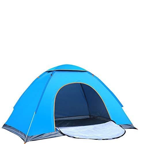 tienda de campaña al aire libre thematys tienda de campaña light pop up throw tent para 1 a 2 personas tienda de campaña festival segunda tienda de campaña con bolsa de transporte (1-2 personas, azul)