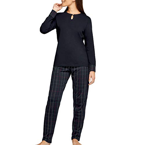 Impetus Woman - Pijama de algodón, modelo X'mas Special azul 40-42