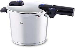 Fissler vitaquick / Pressure Cooker, (6.4 Quart), Stainless Steel, Cookware, Compatible for Induction, Gas, Electric & Stovetops, Dishwasher Safe
