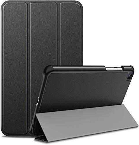 Ztotop Hülle für Samsung Galaxy Tab A 8.0 Zoll 2019 SM-T290/SM-T295, Superdünne Hülle Dreifach gefalteter Ständer Schutzhülle für 8.0 Samsung Galaxy Tab A 2019 Tablet ohne S Pen, Schwarz