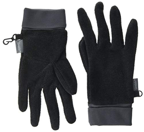 Sterntaler Jungen Fingerhandschuh Handschuhe, Anthrazit Mel, 7