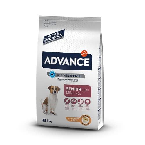 Advance Mini Senior - Pienso para Perros Senior De Razas Pequeñas - 7.5 Kg 7500 g