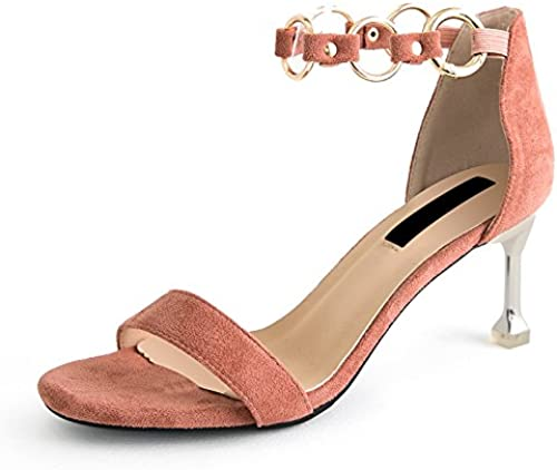 AGECC High Heeled zapatos In Summer with A Thin Slender Toe and Toe zapatos.