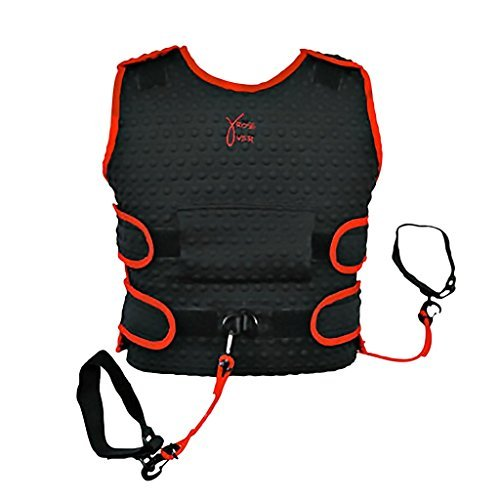 Basketball Training Aid Trainer Equipment for Shooting Dribble Skill Drill (Small)