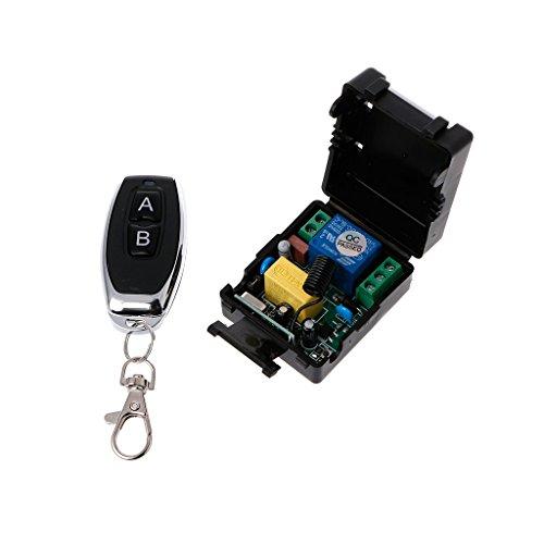 Aawsome AC 220V 10A 1CH RF 433MHz Wireless Remote Control Switch Receiver + Transmisor Kit 3