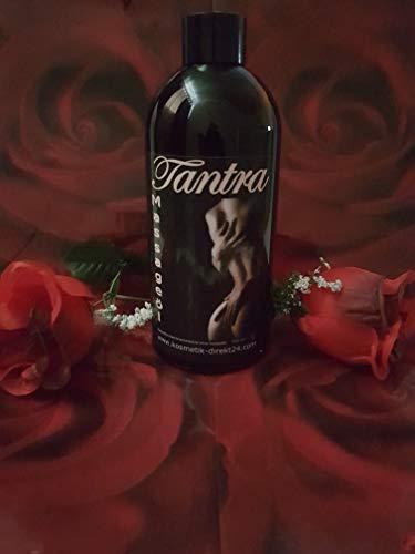 Tantra Massageöl 500 ml Naturreines Öl parfümfrei auch für Allergiker Partnermassage