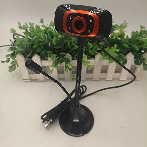 tploo Computadora de Escritorio USB sin Disco HD Beauty con micrófono Notebook Home Net Class-Seat Vertical 700W Webcam with Microphone Webcam Gaming