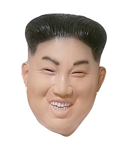 Rubber Johnnies Laughing Kim Jong Un Mask, Korean Ruler , Rocketman, One Size