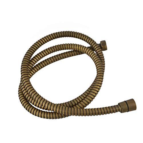 Y·z-Flessibili Doccia Tubo Flessibile per Doccia A Mano in Ottone Anticato da 59'Hipe Flessibile 150 Cm