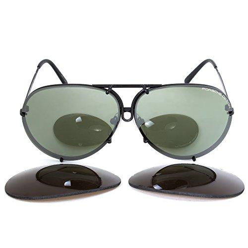 Porsche Design unisex gafas de sol P8478, D-olive, 66