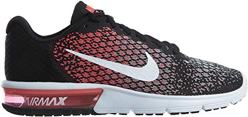 Nike Air Max Sequent 2 Wolf Grey/White/Bright Mango/Sunset Glow Women's Running Shoes
