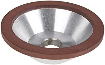 Generic 4-Inch 100mm Grit 180 Diamond Coated Concave Cup Shaped Grinding Wheel For Carbide Metal