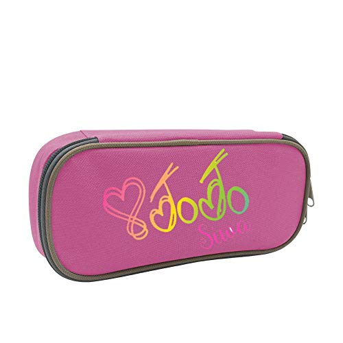 Teens JoJo_Siwa School Supplies Pencil Case Bag Pen Box Multi Function and Large Capacity for Boys Girls
