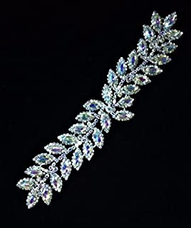 swarovski crystal bridal sash