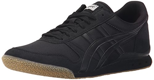Onitsuka Tiger Unisex Ultimate 81 Shoes, 10W, Black/Black