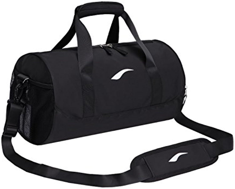 ADream Dauerhaft Outdoor große Kapazität Sporttasche Sporttasche Travel Weekender Seesack für Männer (Schwarz) B07GB577GF | Angemessene Lieferung und pünktliche Lieferung