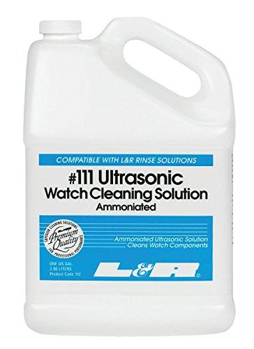 L & R #111 Ultrasonic Waterless Watch Cleaning 1 Gallon