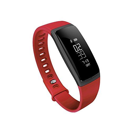 PXX Horloges Smartwatch Waterdichte Polsband met Bloeddruk Hartslagmeter Kleur Stappenteller Alarm Klok Herinnering Vrouwelijke Fysiologie Herinnering Countdown Stopwatch Horloge C