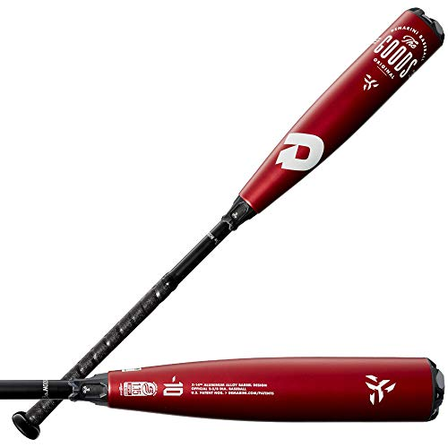 DeMarini The Goods (-10) USSSA Baseball Bat-2 3/4' Barrel - 29'/19oz, Black, WTDXGBZ 1929-21