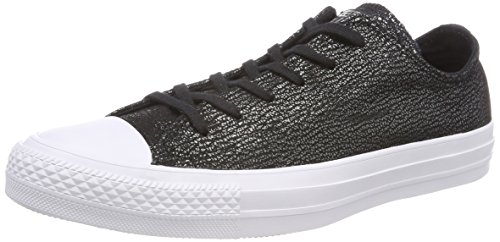 Converse 559888C Damen Ctas Ox Fitnessschuhe, Schwarz (Black/Silver/White 001), 39 EU
