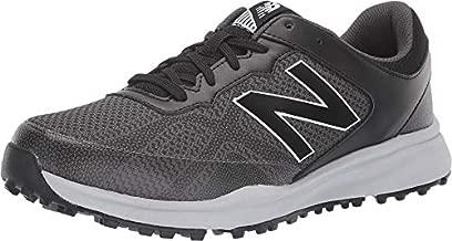 New Balance mens Breeze Breathable Spikeless Comfort Golf Shoe, Black/Grey, 11 Wide US