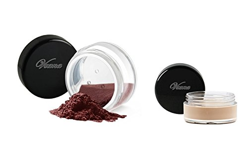 Veana Mineral Line Lidschatten plus Eye Primer dark chocolate, 1er Pack (1 x 10 g)