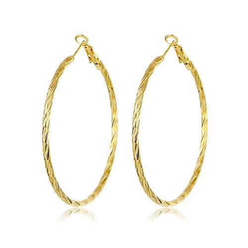 Pendientes redondos geométricos para las mujeres Pendientes de oro 2020 Moda Gota Pendientes Nuevo Brinco Joyería regalo