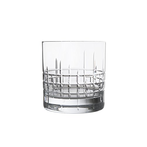 Schott Zwiesel Tritan Crystal Glass Distil Barware Collection Aberdeen DOF Old Fashioned Cocktail Glasses (Set of 6), 13.5 oz, Clear