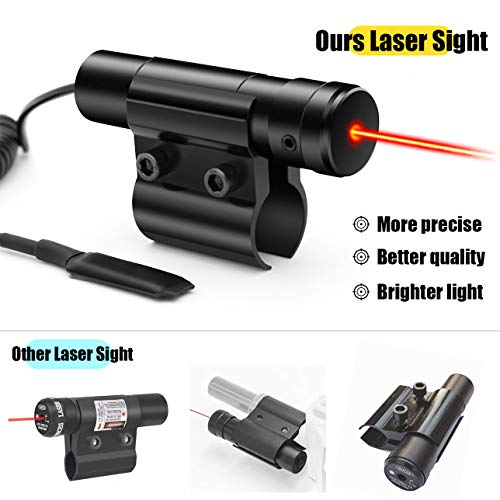 Wassers Insect Salt Gun Laser Bug-Beam for Bug Salt 2.0 3.0, Insect Eradication Airsoft BB Pump Add-On Accessories
