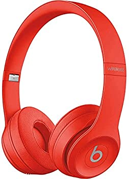 Beats Solo3 Wireless On-Ear Headphones - Citrus Red  Renewed