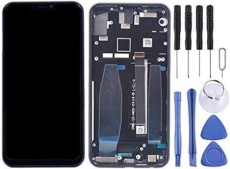 YANGJIAN LCD Screen and Digitizer Full Assembly with Frame for Asus Zenfone 5 ZE620KL Color : Black Black