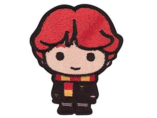 by gedeacc-kreativ Bügelbild Aufnäher Patch Applikation zum Aufbügeln Harry Potter Ron Weasley 5,2 cm x 6,0 cm