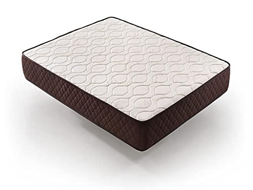 Colchón Anti Alérgico y antiácaros – Colchón de Alta firmeza para la Espalda – 30 Noches de Prueba (135x190)