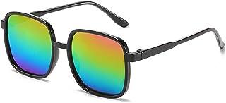 FJCY - Gafas de Sol graduadas para niños a la Moda, Gafas de Sol cuadradas Rosas para niños y niñas, para Mujer/Hombre, Retro, para niños -6-Dj6617Sun-C4