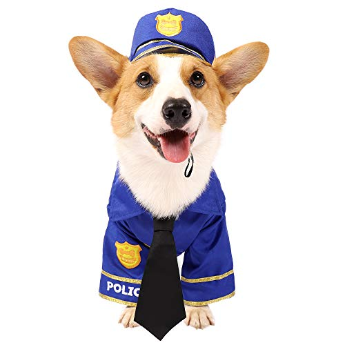 Spooktacular Creations Pet Halloween Police Dog Costume - XL