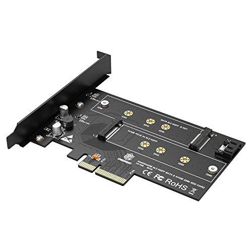 Kingshare M.2 NVMe SSD NGFF to PCIE X4 Adaptador M Key B