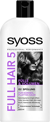 Syoss Full Hair 5 spoeling, verpakking van 6 stuks (6 x 500 ml)
