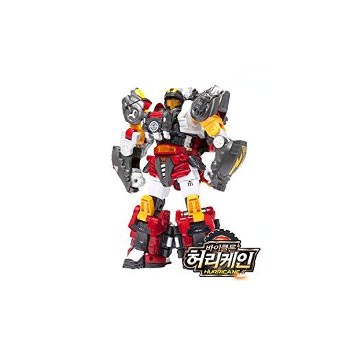 Young Toys Biklonz Hurricane Transformer Robot, Copolymer Animal Toy Robot Action Figure