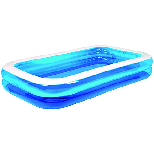 Wild 'n Wet - 3m (10ft) Jumbo Family Paddling Pool, Garden Paddling Pools, Blue Large Family Pool, Large Paddling Pool for Kids, Garden Toys, Garden Pool, Paddling Pools for Toddlers, Summer Pool,