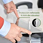 MAMPARA DE PROTECCIÓN METACRILATO TRANSPARENTE EXTRAFUERTE 4mm (80x80cm) #6