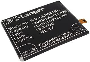 Replacement Battery for LG D800 LS980 D802 D801 BL-T7 VS980 D802TA D803 D805 DS1203 G2 D803 4G LTE G2 D805 4G LTE G2 L-01F Optimus G2