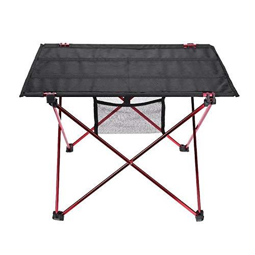 TRJGDCP Tuintafel, ultra-draagbaar, klaptafel, camping-, picknick- of buitenshuis, barbecuevissen