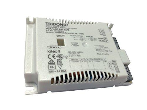 Tridonic,Tridonic PCA 1x55W T5c ECO II elektronische Hochfrequenz DSI/DALI dimmbare - Läuft 1x 55w T5c Rund - 22185124