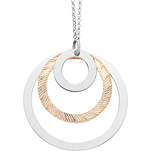 Boccadamo Magic Circle Casual - Collar para mujer, cód. XGR575RS