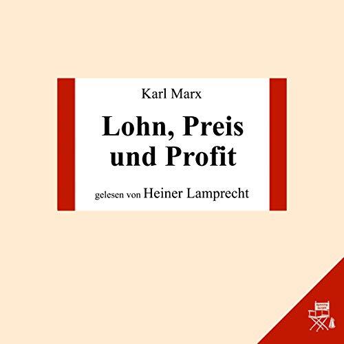 Lohn, Preis und Profit Titelbild